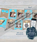 Sloth Baby Shower Invitation KIT, Editable Boys Sloth Baby Shower Invite, Baby Sloth Diaper Raffle Books for Baby Printable INSTANT DOWNLOAD