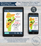 Muchachito Baby Shower Invitation, Editable Baby Fiesta Invite, Taco bout a Baby Cinco de Mayo Muchacho Printable Template INSTANT DOWNLOAD