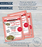 Spaghetti Dinner Fundraiser FLYER Invitation, School Editable Fundraiser All you can eat Pasta pta flyer  Printable
