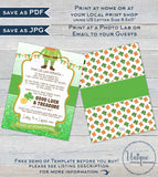 Editable Leprechaun Letter, St Patrick's Day Note, Lucky Irish Leprechaun Trap Message, Personalized Printable Custom