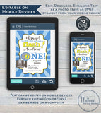 One in a Flash Birthday Invitation, Editable Oh Snap First Birthday Invite, Photo 1st Camera Film Party, Template Printable INSTANT DOWNLOAD