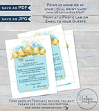 Boys Easter Bunny Letter, Editable Letter from the Easter Bunny Note, Spring Easter Rabbit Trap Message, diy Personalize Printable