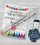 Space Teacher Gift Card holder, Editable Staff Thank You Card, Printable Teacher Appreciation Outta this World Printable