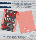 Editable Canada Day Invitation, Oh Canada Day BBQ Invite, Canada Day Eh July 1 Flag Summer Party, A4 Personalized