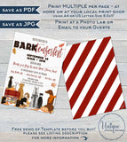 Barktemberfest Flyer Template, Editable Fall Dog Fundraiser Invitation Service Dog Fundraiser Veterinary School Charity Event INSTANT ACCESS