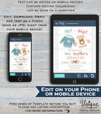 Editable Christmas Gender Reveal Signs, Ugly Christmas Sweater Old Wives Tales Cast Vote He or She Baby Boy or Girl Printable INSTANT ACCESS