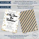Editable New Years Eve Invitation, Personalized New Year Celebration Invite, New Years Eve Party Glitter Champagne Printable INSTANT ACCESS