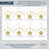 Editable New Years Eve Sparkler Tags, 2020 New Years Eve Party Sparkler Cover Favors, diy Birthday Party Printable Template INSTANT ACCESS