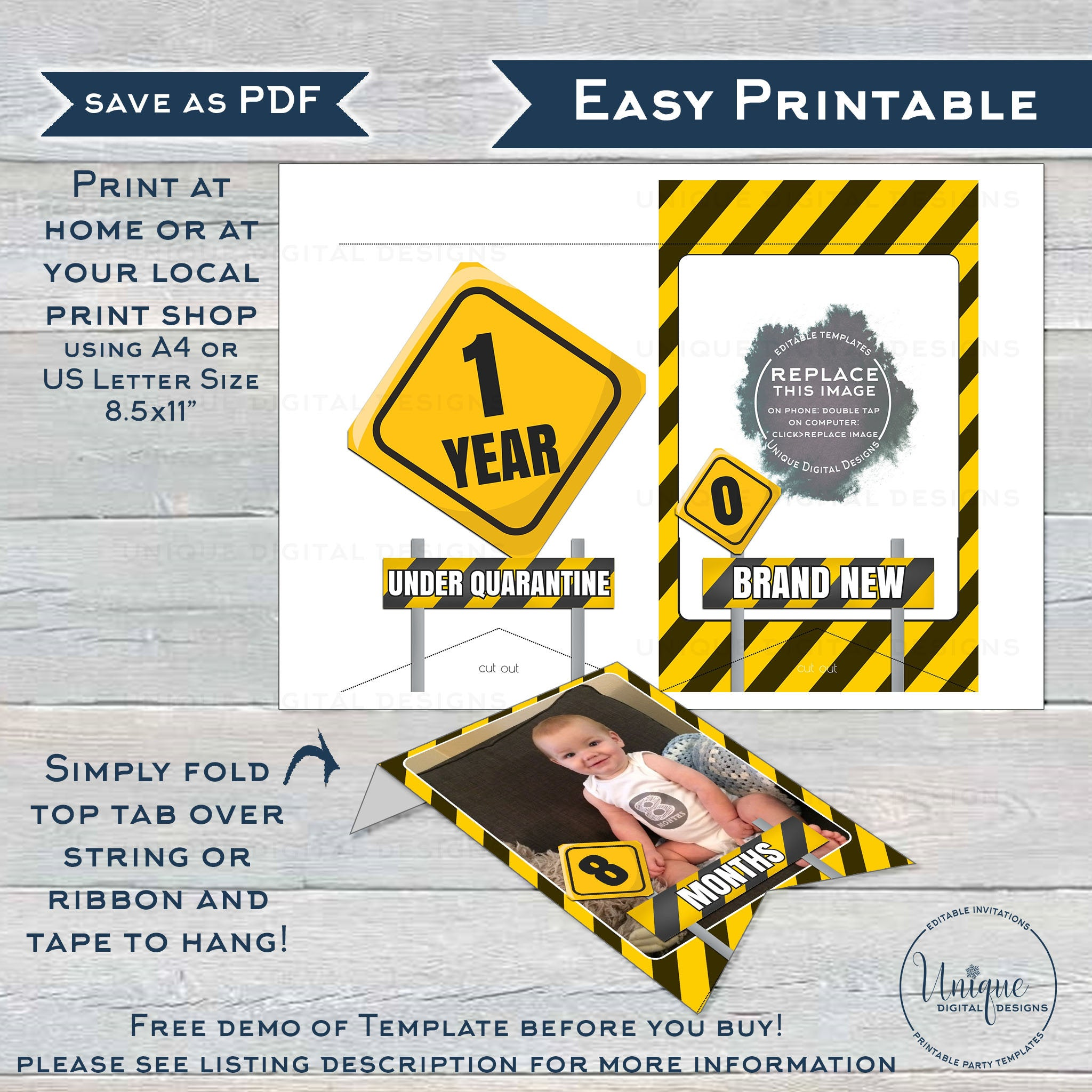 It is an image of Printable Birthday Banner Template regarding customizable