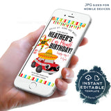 Quarantine Birthday Parade, Editable Cinco de Mayo Drive By Invite, 40th Birthday Party Invitation, Banner Digital INSTANT ACCESS