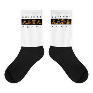 Alpha MCMVI Socks