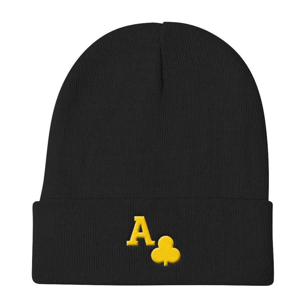 Alpha Ace Club Knit Beanie