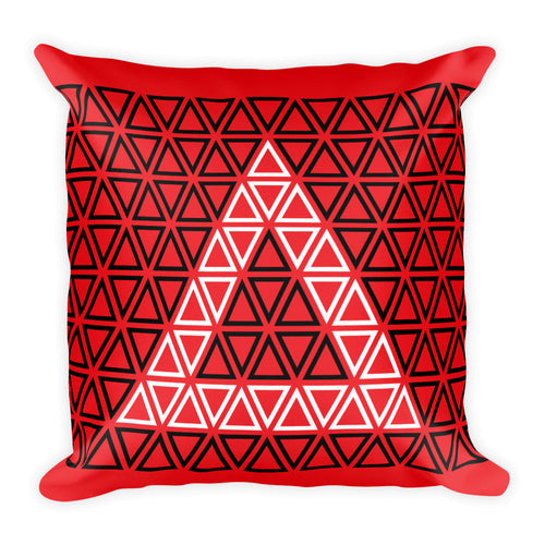 Delta Sisterhood Square Pillow