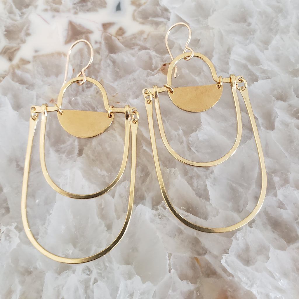 (c) Juvelarto Expansion Drop Earrings