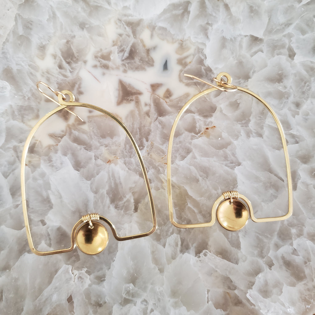 Juvelarto Bell Drop Earrings