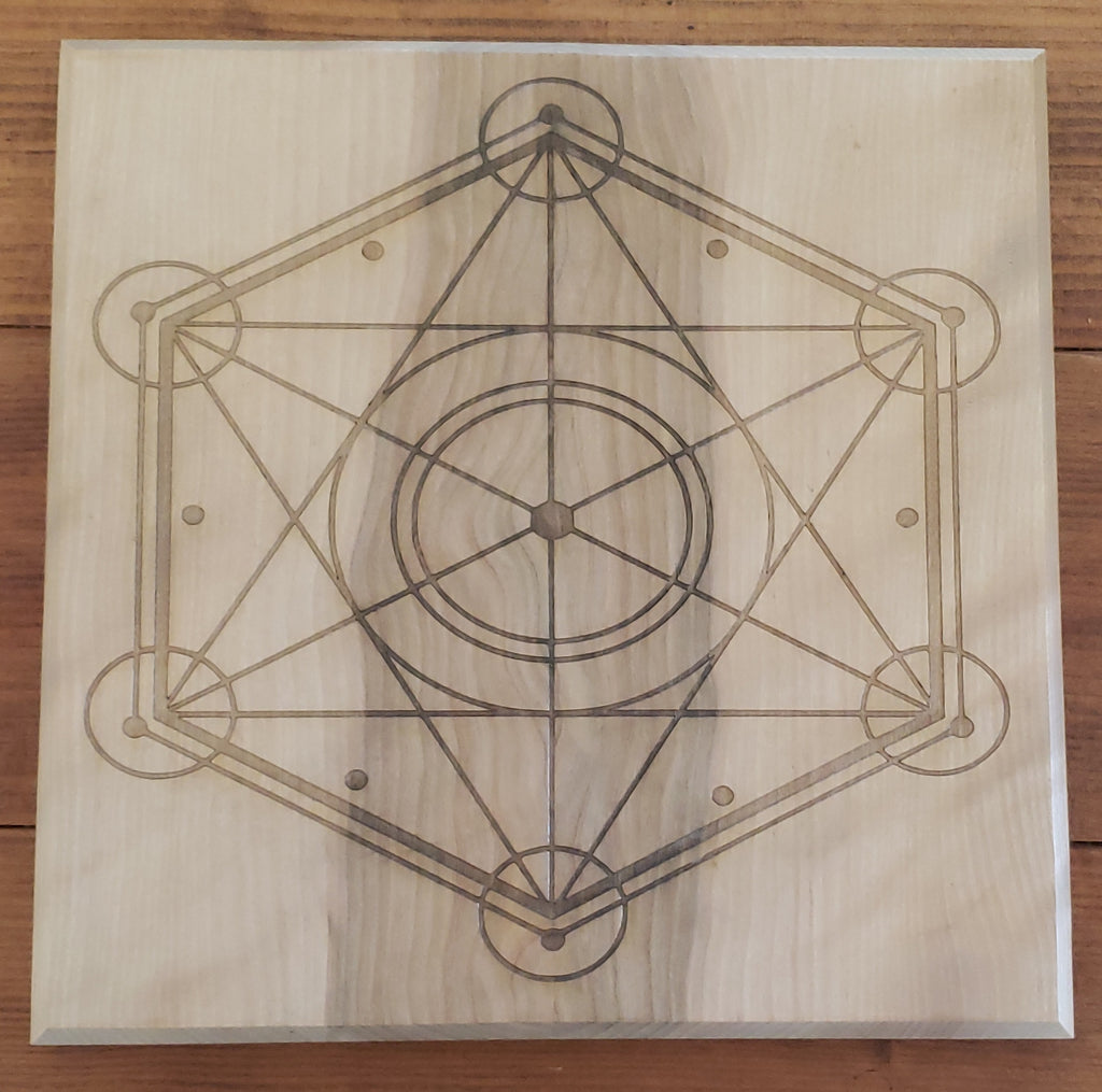 Hard Candy Wood Engraved Crystal Grids