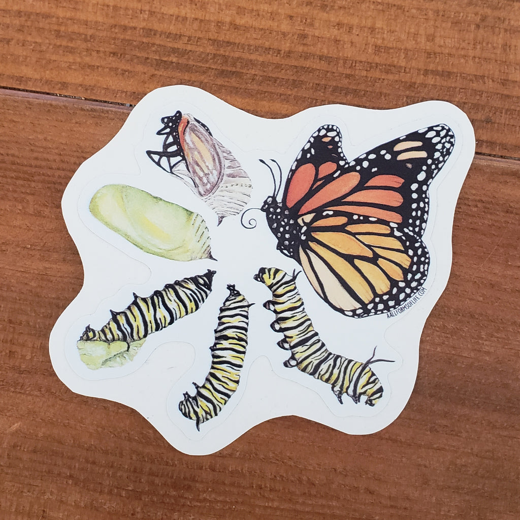 (c) Aall Forms of Life Animal Stickers