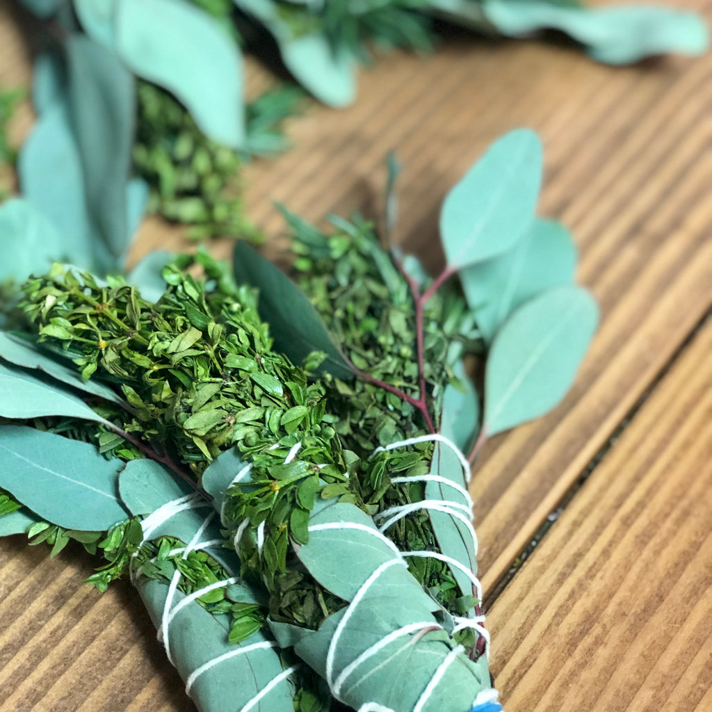 Christina Holland Herb Bundles (Eucalyptus, Creosote, Rosemary)