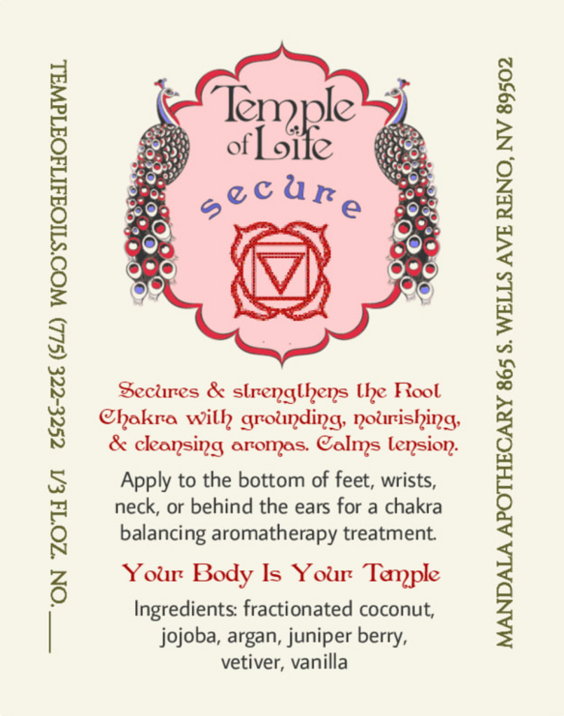 Secure | Root Chakra Blend