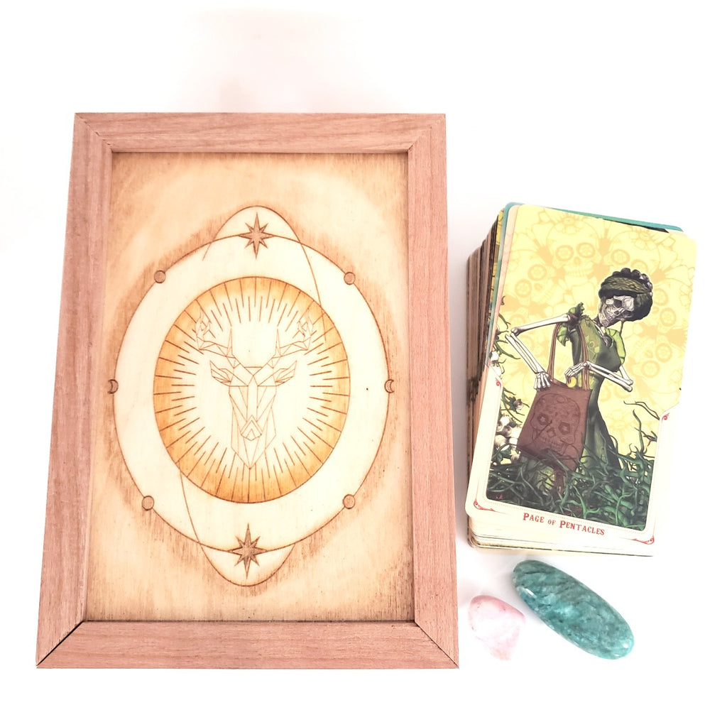 Handcrafted Wooden Altar Box