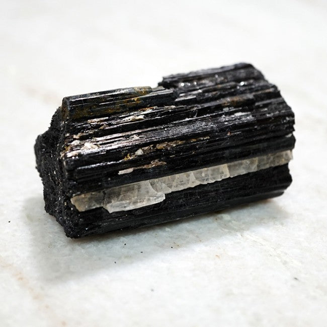 Raw Black Tourmaline Pocket Stone