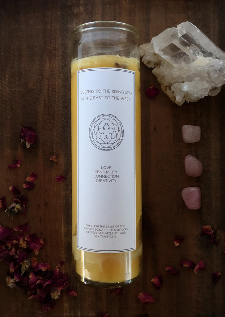 Venus Intention Candle | Beeswax | Astatula Candle Co