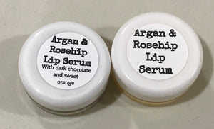 Argan and rosehip lip serum