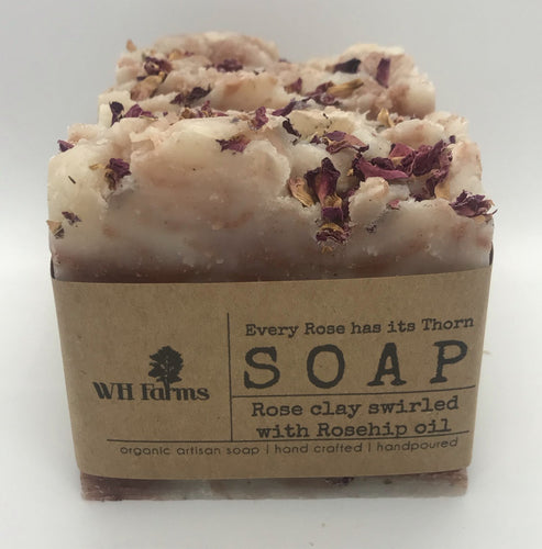 Every Rose Has it's Thorn- Bar soap