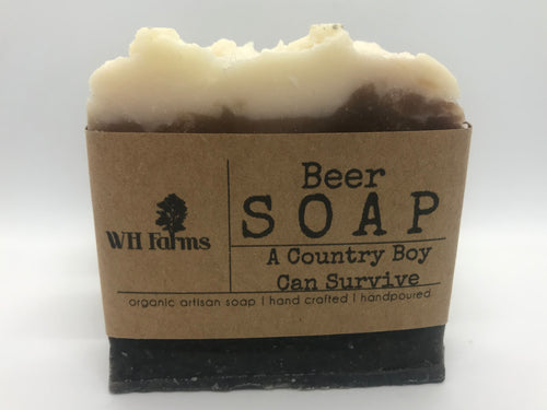 Beer soap- A Country Boy Can Survive