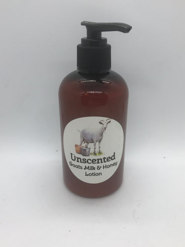 Goat milk and honey lotion 8oz