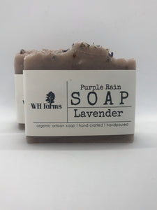 Purple Rain- Bar soap