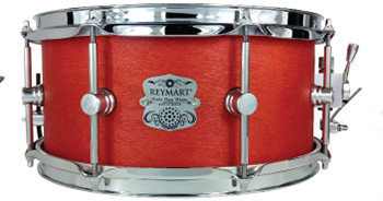 Tarola Reymart Satin Oil Series 13x6 de abedul color rojo