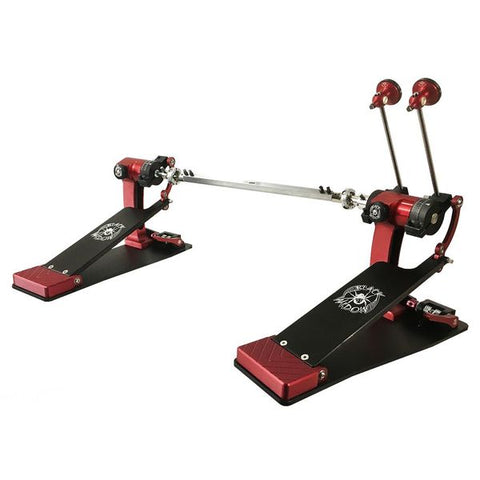 Pedal doble bombo Trick Drums Pro1-V ShortBoard Low Mass Black Widow Double