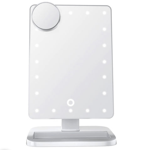 LED Vanity Mirror with Bluetooth Speaker