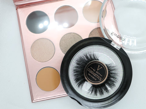All about eyes! Eyeshadow and mink lash bundle
