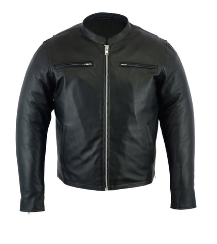Mens Hampshire Cruiser Leather Jacket