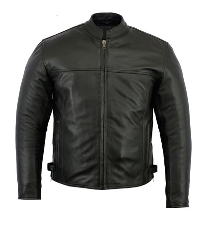 Mens Dakota Cruiser Leather Jacket - Very Popular!
