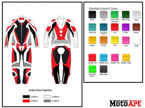 Custom Motorcycle Leather Racing Suit - Create Your Own - MotoArt Leather