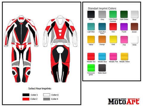 Custom Motorcycle Leather Racing Suit - Create Your Own