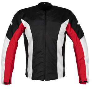 MotoArt UltimateRider Textile Motorcycle Jacket Cordura 1000D Red - MotoArt Leather