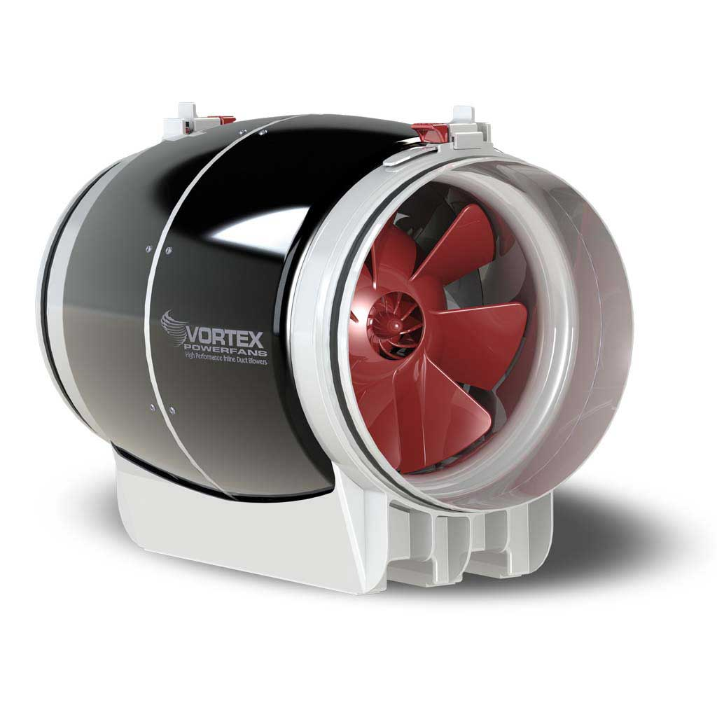 10inch Vortex Ultra Quiet S-1000 Inline-Fan