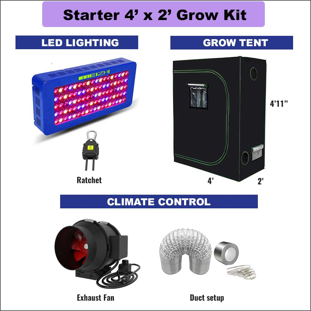 4X2 Grow Kit for begginers