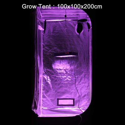VIPARSPECTRA V450 LED Grow Light In Grow Tent