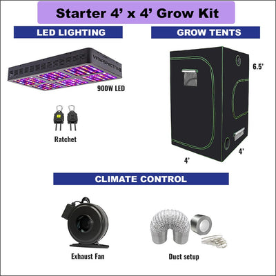 Starter Indoor Grow Room Kit