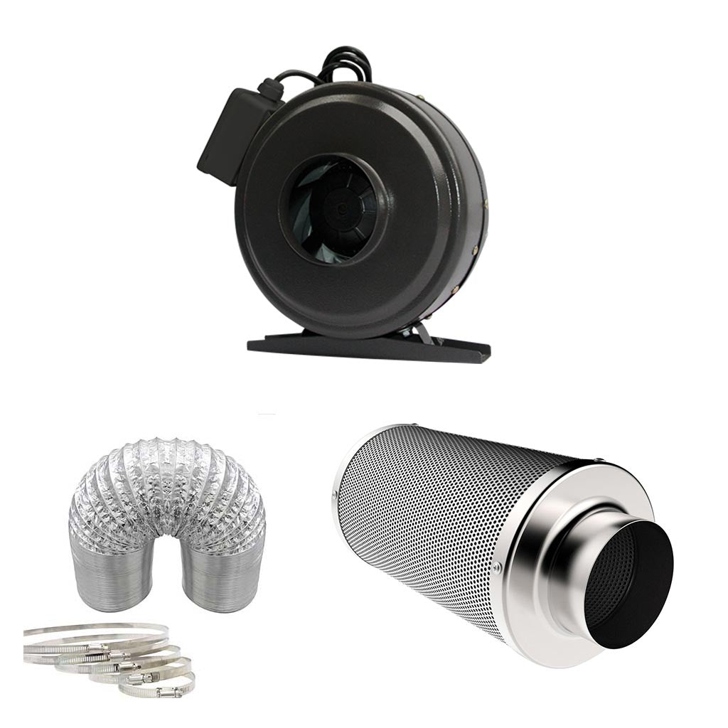 6'' Grow Fan and Filter Combo