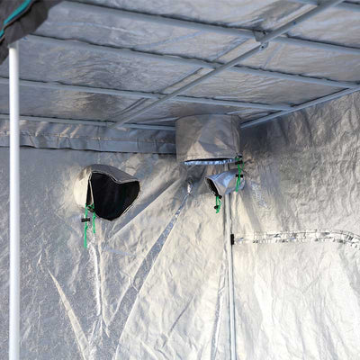 INDOOR GROWING TENT DUAL LAYERED VENTS