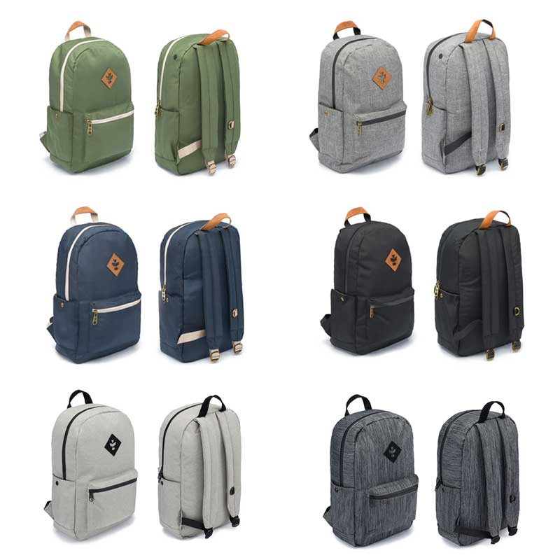 Revelry Smell Proof Backpacks available at GrOh Canada