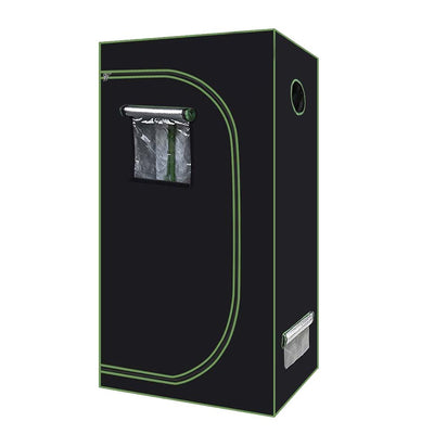 2'x2' Grow Tent is sleek and compact and perfect for growing 2 large plants