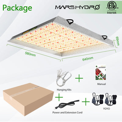 Mars Hydro 450W LED Grow Light (TS3000)