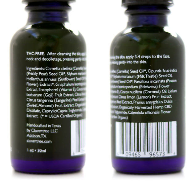 CBD Overnight Facial Serum